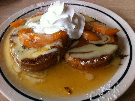 IHOP Peaches and Cream French Toast - Image © SearchIndia.com