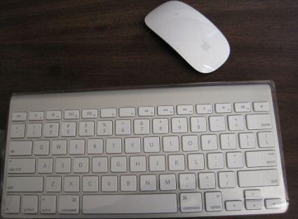 iMac Wireless Mouse & Keyboard