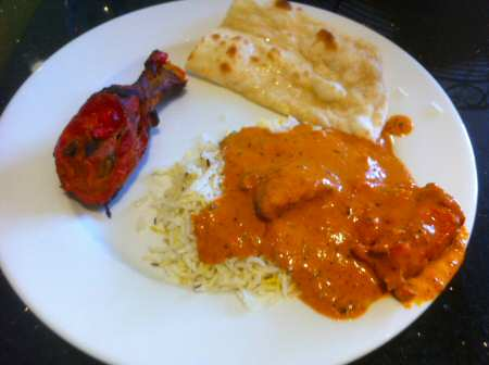 Indiya Chicken Makhani, Tandoori Chicken - © SearchIndia.com