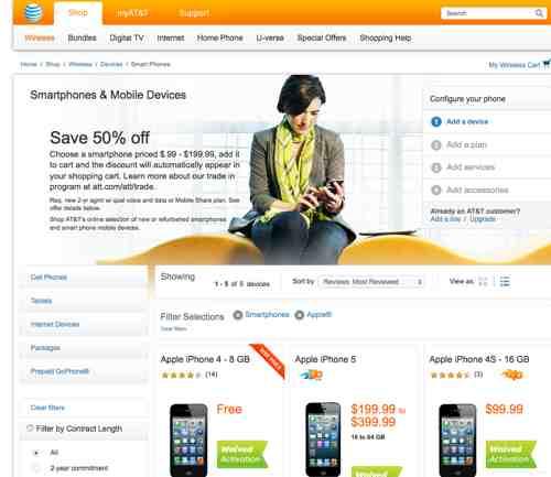 iPhone Deals at Walmart, AT&T, Best Buy