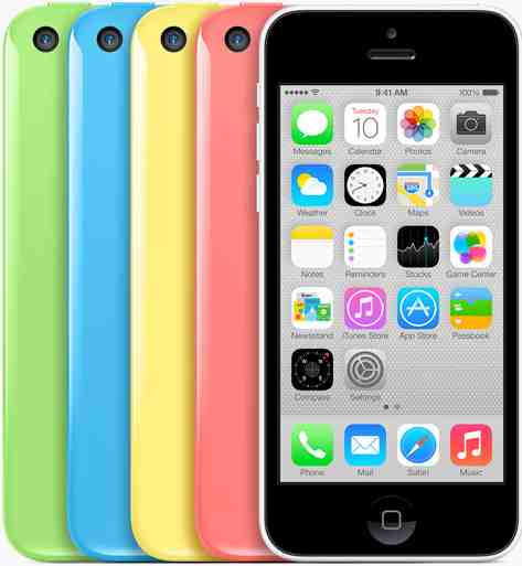 Few Takers for iPhone 5C?