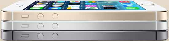 iPhone 5s Models - Three Colors