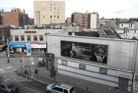 Shahrukh Khan Ad in Jackson Heights NYC
