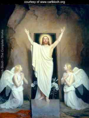 Jesus Christ - Resurrection (Painting by Carl Bloch)