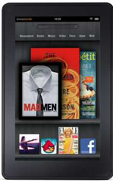 Amazon Launches Kindle Fire