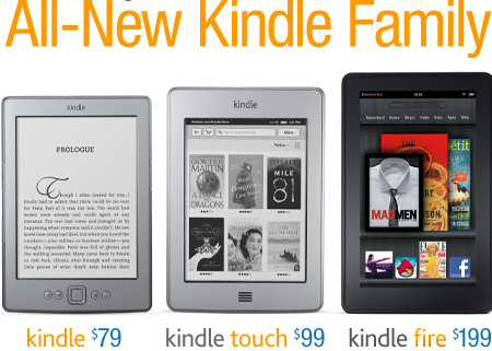 Amazon Launches Kindle Touch