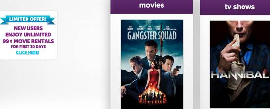 M-GO Deal Offers New Movies for 99-Cents