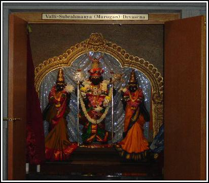 Murugan at Sri Venkateswara Swamy Temple Aurora, IL