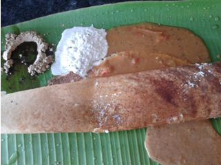 Butter Dosai at Murugan Idli Shop, Chennai