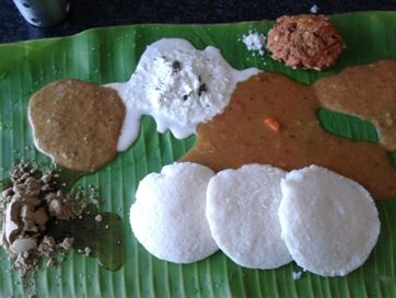 Murugan Idli Shop Idlis