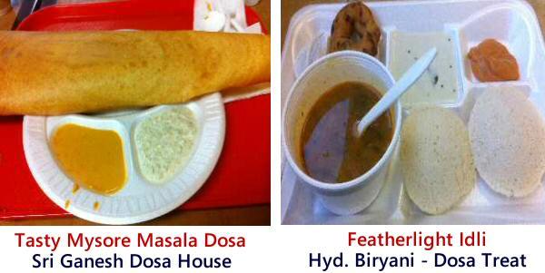 Ganesh Dosa House Mysore Masala Dosa, Hyderabad Biryani-Dosa Treat Idli