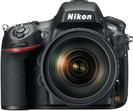 Nikon D800 D-SLR Camera Front