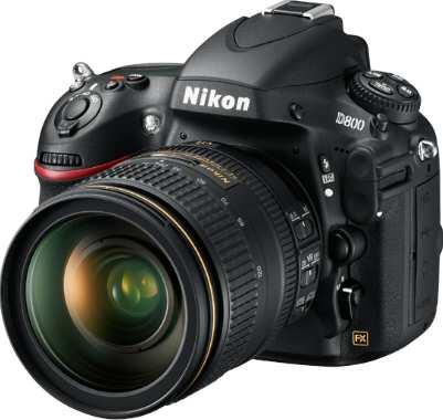 Nikon D800 D-SLR Camera Right