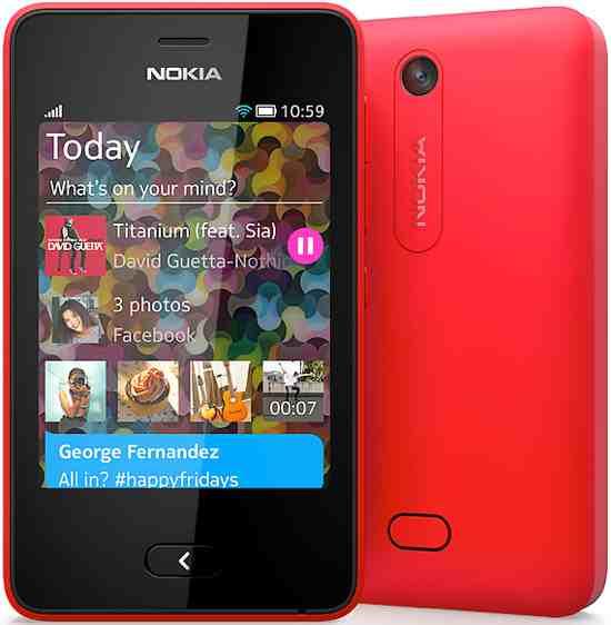 Asha 501 Smartphone