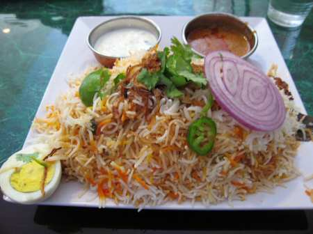 Paradise Biryani Pointe Jackson Heights Chicken Biryani - © SearchIndia.com