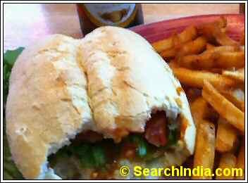 Nando's Peri Peri Chicken Sandwich
