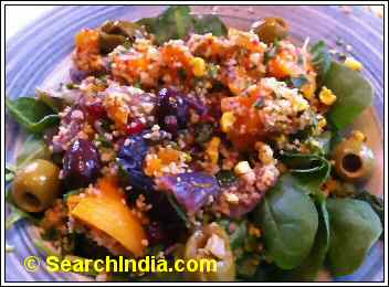 Nando's Peri Peri Butternut Squash Salad