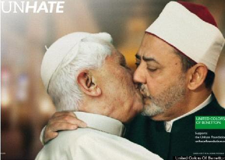 Pope Benedict - Benetton Ad
