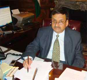 Indian Consul General in NYC Prabhu Dayal