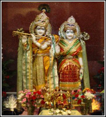 Radha Krishna at Rama Temple Lemont, IL