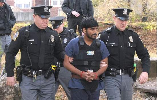 Raghunandan Yandamuri at his Preliminary Hearing in a Montgomery County, PA court