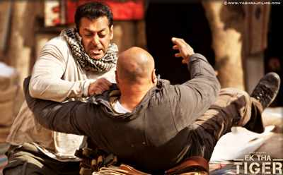 Bollywood Star Salman Khan in Ek Tha Tiger