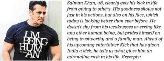Salman Khan - Whitewashing his Crimes