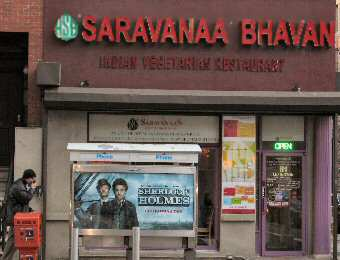 Saravanaa Bhavan NYC - South Indian Vegetarian Restaurant on Lexington Avenue