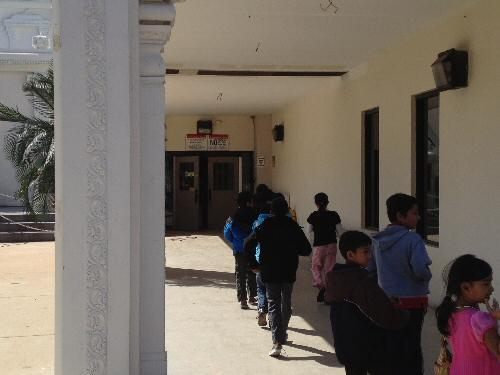 Sri Siva Vishnu Temple Canteen Entrance - © SearchIndia.com