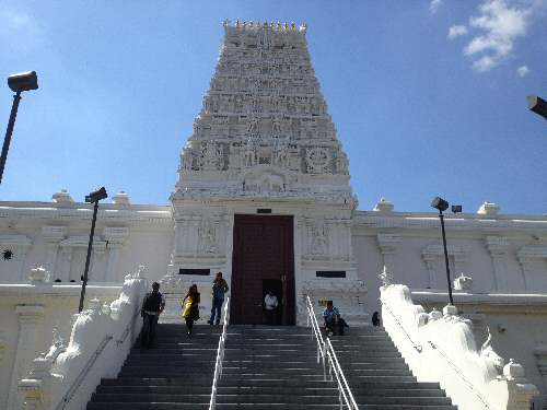 Sri Siva Vishnu Temple MD Entrance - © SearchIndia.com