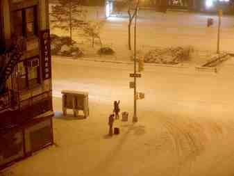 Heavy Snow in Northeast USA