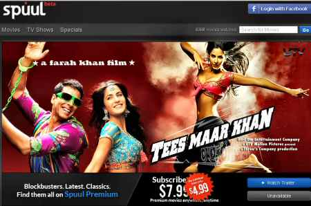 Spuul Launches Bollywood Movie Streaming Service