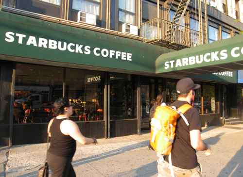 Starbucks on Houston St NYC