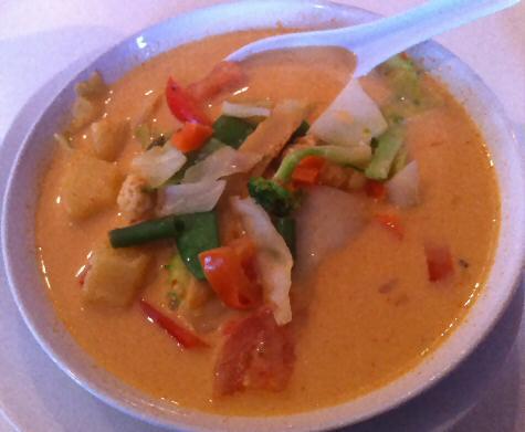 Thai Pineapple Curry