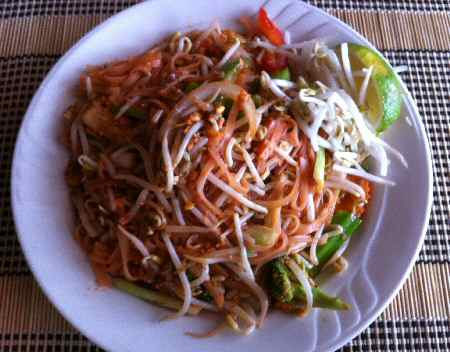 Flavorful Pad Thai