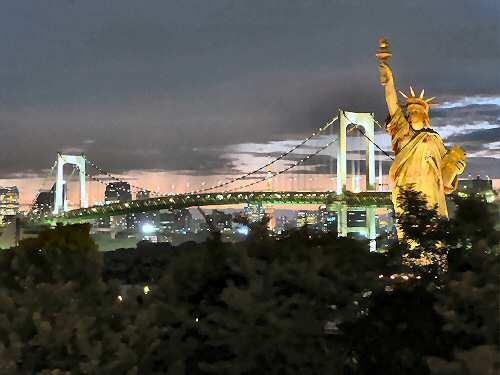 Tokyo Statue of Liberty - Image © SearchIndia.com