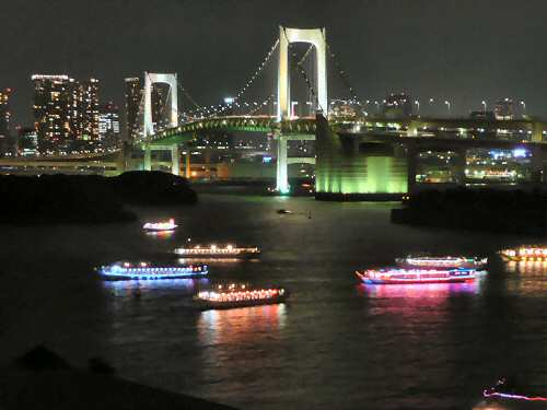 Tokyo in the Night - Image © SearchIndia.com