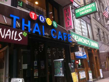 Toon Thai NYC location - Image © SearchIndia.com