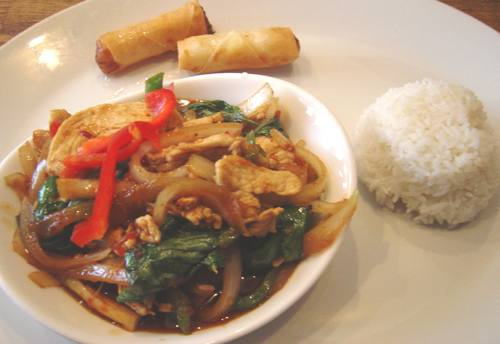Toon Thai Basil Chicken - Image © SearchIndia.com