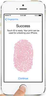TouchID Works Great Even with Sticky Indian Fingers