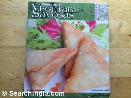 Vegetable Samosa Appetizer  - Image © SearchIndia.com