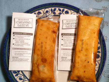 Trader Joe's Aloo Chaat Kati Pouches - Image © SearchIndia.com