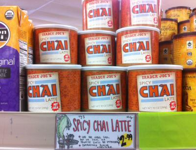 Trader Joe's Spicy Chai Latte
