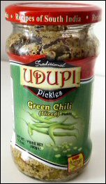 Udipi Green Chilli Pickle