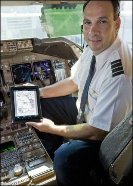 iPads in United Airlines Cockpits
