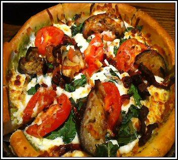 Uno Chicago Grill Farmers Market Deep Dish Pizza
