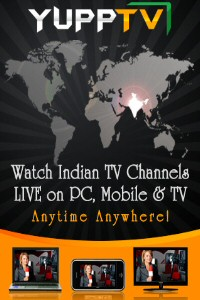 Yupp TV for iPad Offers Live Indian TV Channels